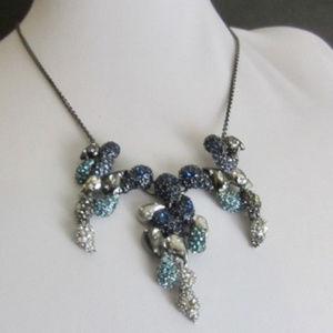 Alexis Bittar Pavé Crystal Ombré Paisley Necklace